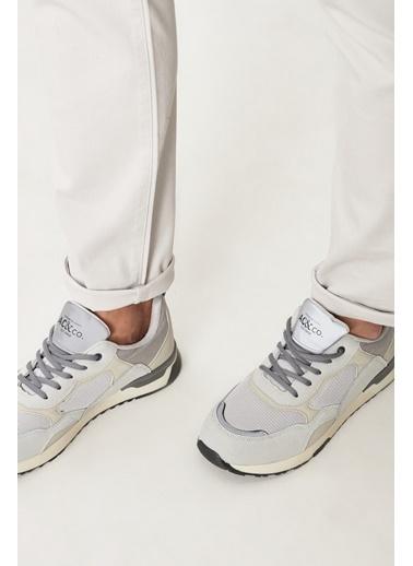 AC&Co / Altınyıldız Classics Casual Spor Sneaker Ayakkabı 4A2221100020 Bej